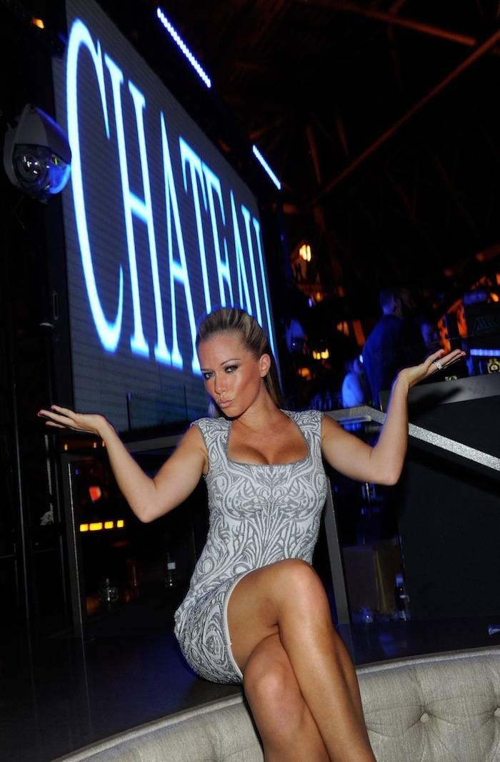 Kendra Wilkinson-Baskett Celebrates Birthday At Chateau Nightclub & Gardens