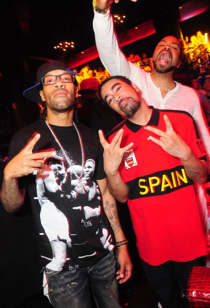 (L-R-Redman, Rico 'Tash' Smith, Method Man)_LAX Nightclub