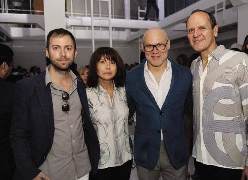 Leandro Elrich, Veronique Nichanian, Craig Robbins and Robert Chavez