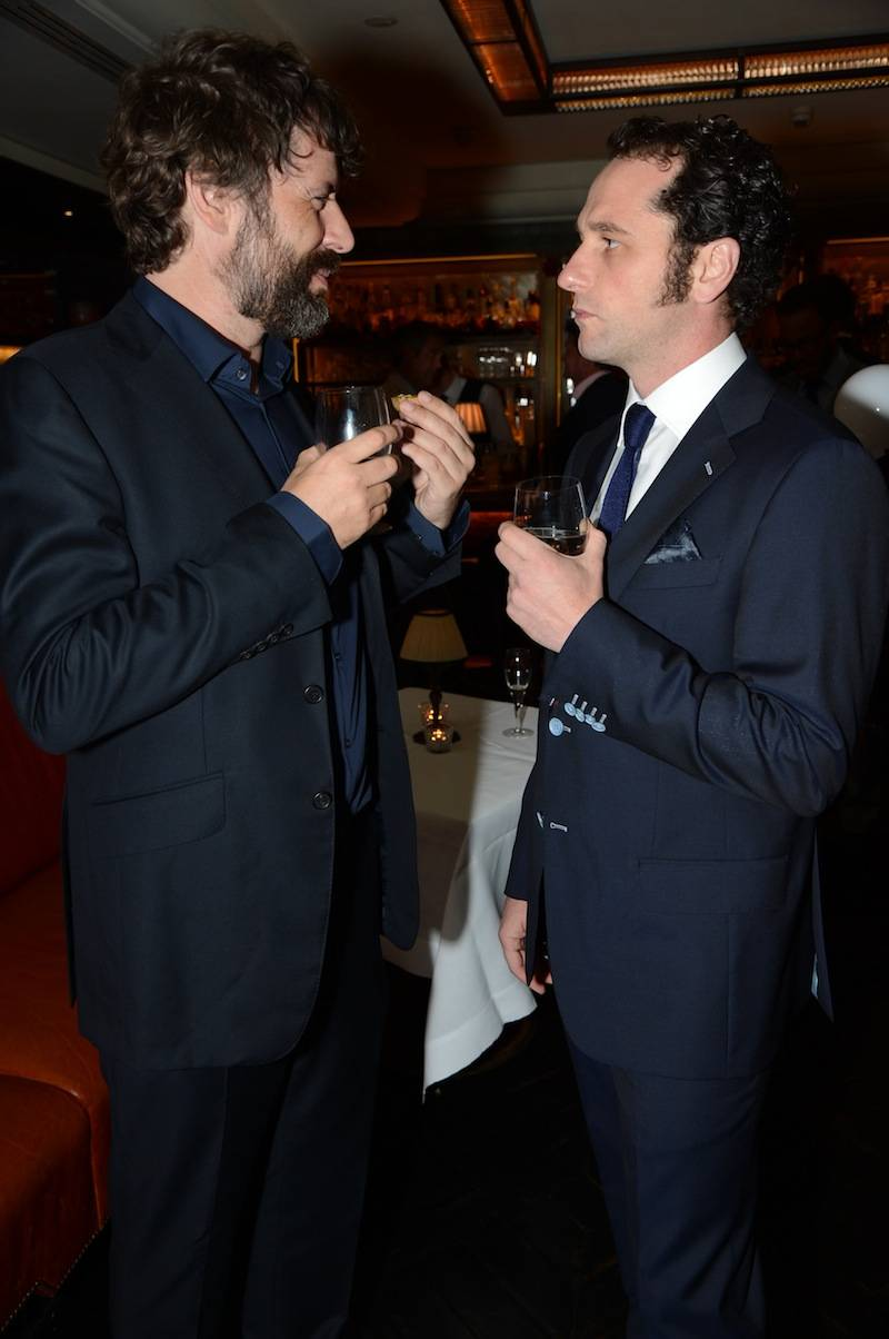 Matthew Rhys and Friend