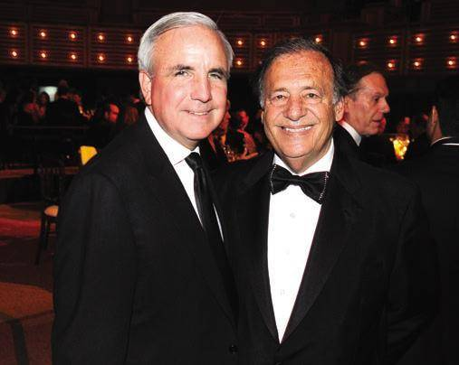 Mayor Carlos Gimenez and Jeff Berkowitz