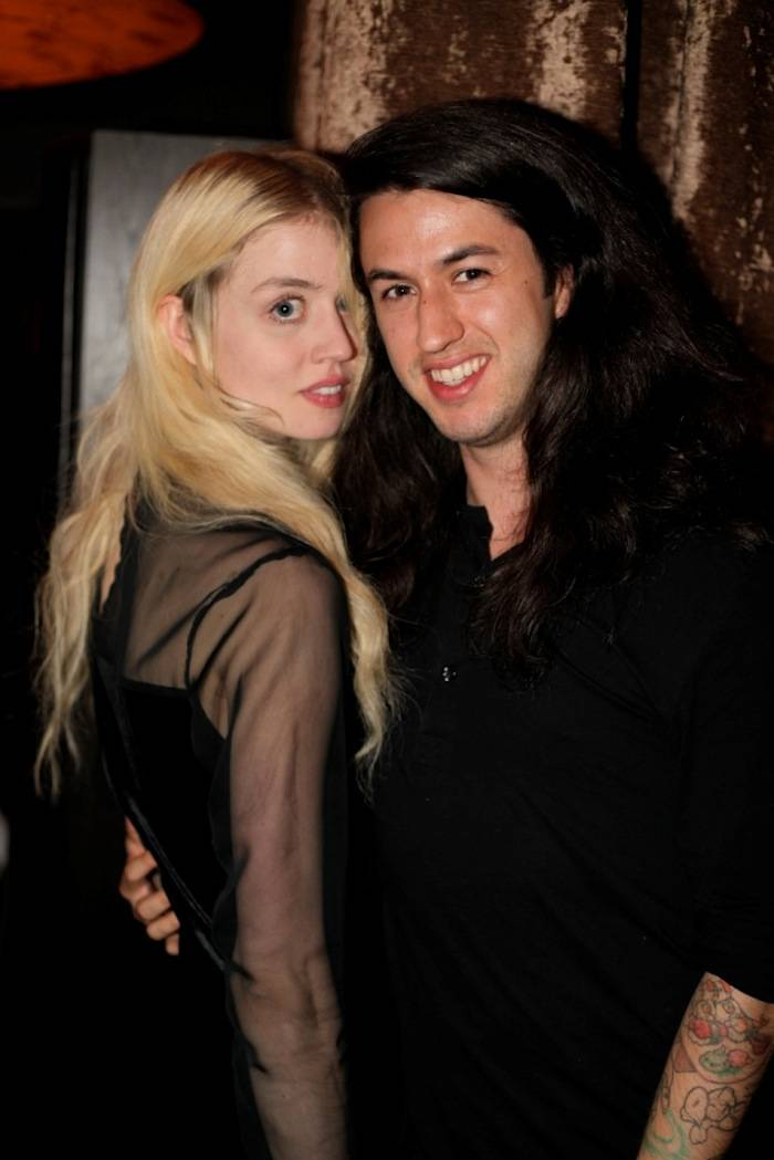 Model Allison Harvard with Boyfriend Aj Calderon
