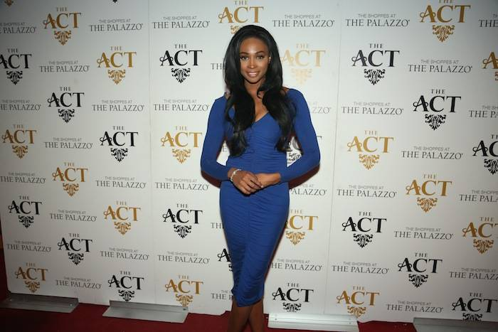 Nana Meriwether on the red carpet at The ACT