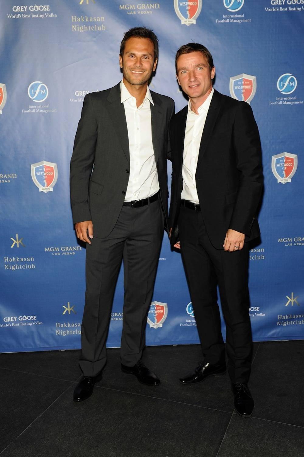 Patrik Berger and Vladimír Šmicer