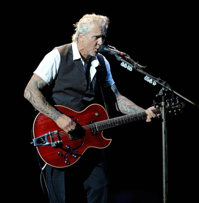 Guitarist Neil Giraldo performs at The Pearl concert theater at the Palms Casino Resort on June 15, 2013 in Las Vegas. (Photo by David Becker)