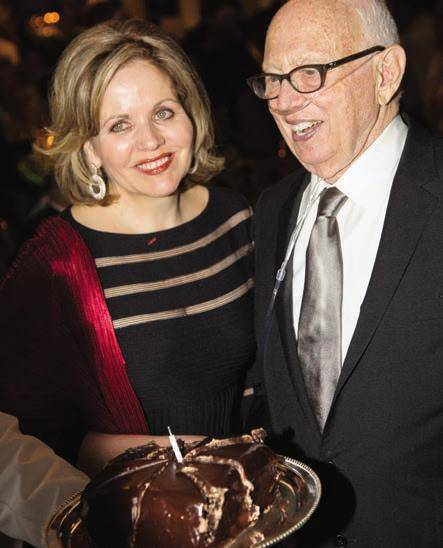 Renée Fleming and Ellsworth Kelly