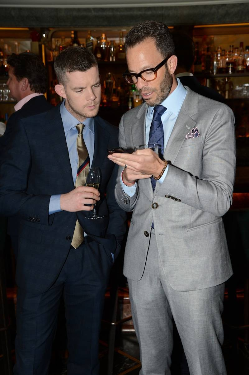 Russell Tovey and Andrew Weitz
