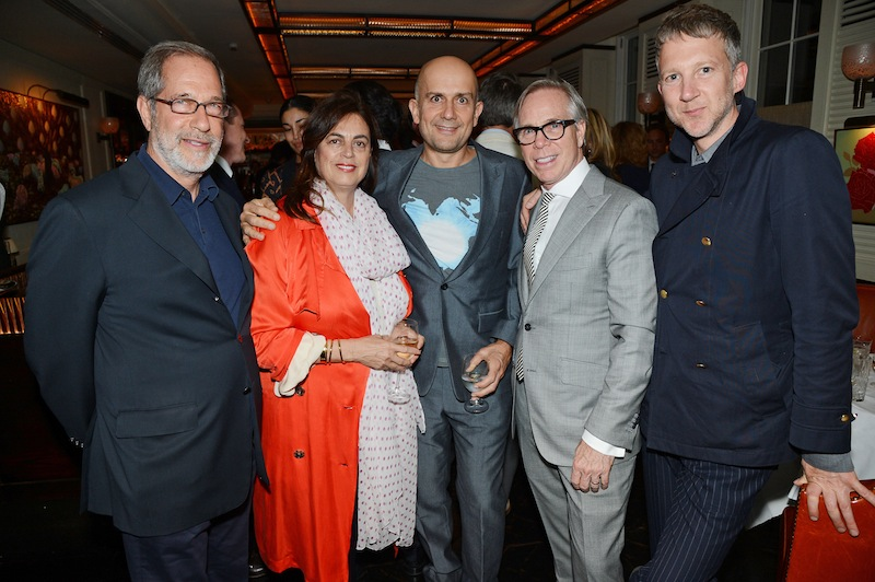 Tommy Hilfiger and Jonathan Newhouse Dinner in celebration of London Collections: Men, London, Britain - 17 Jun 2013