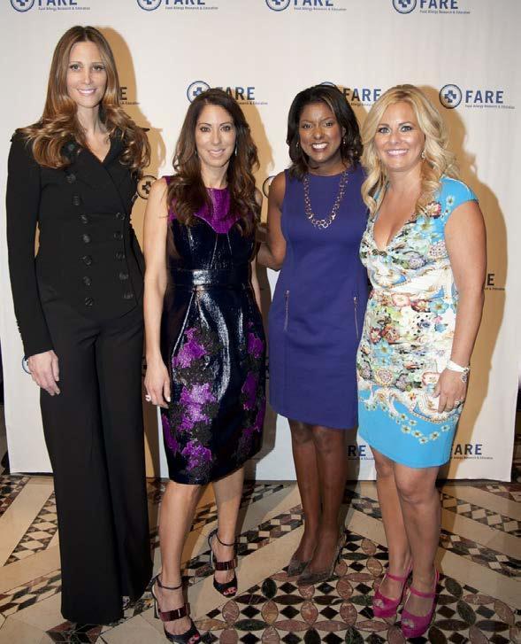 Stephanie Winston Wolkoff, Roxanne Palin, Lori Stokes, Abby Braverman