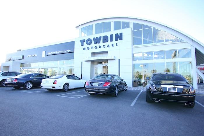 Photos towbin motorcars unveils the rolls royce wraith for Towbin motors las vegas