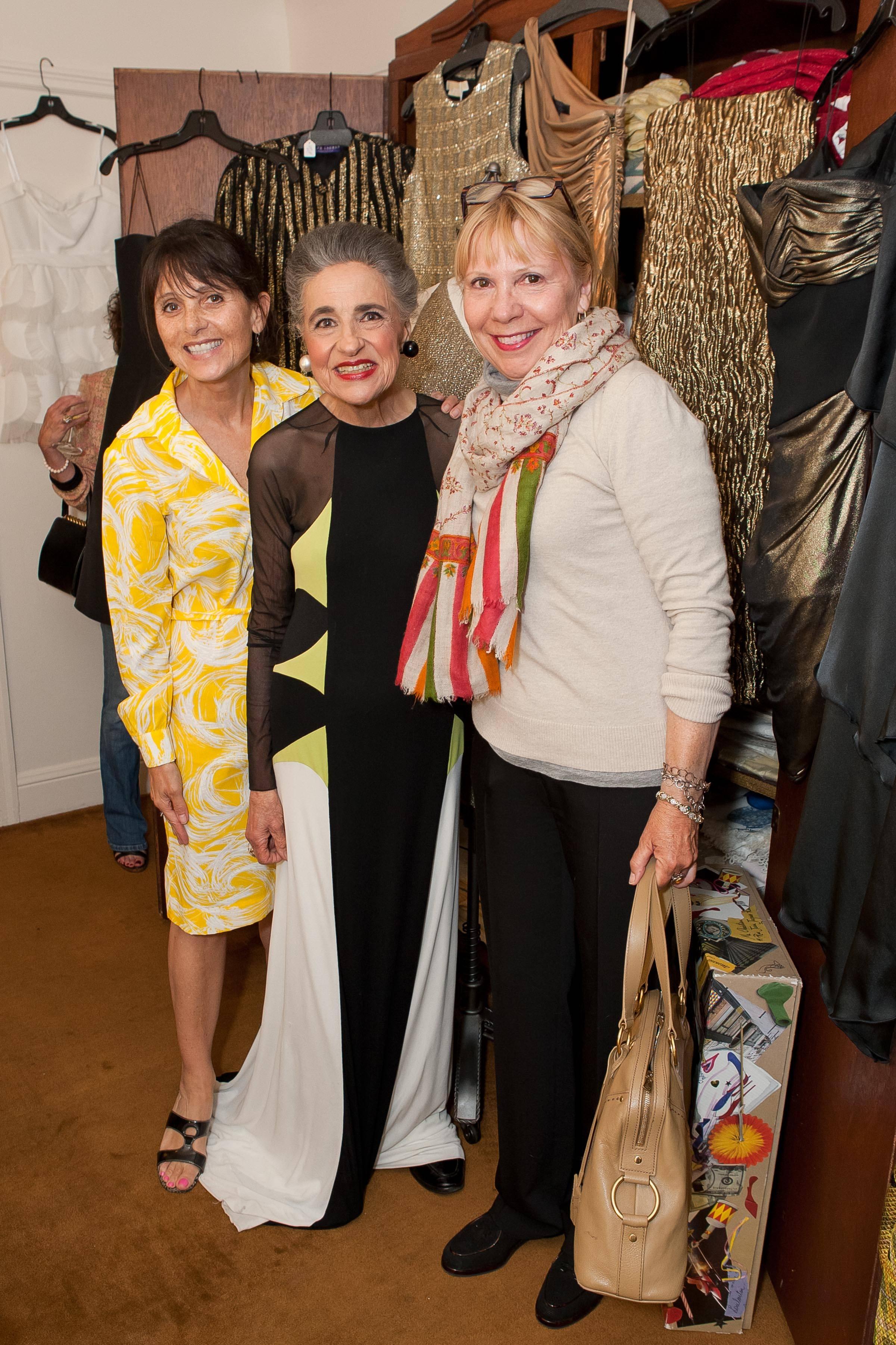 Maria Martinez, Joy Venturini Bianchi, Jeanne Barr
