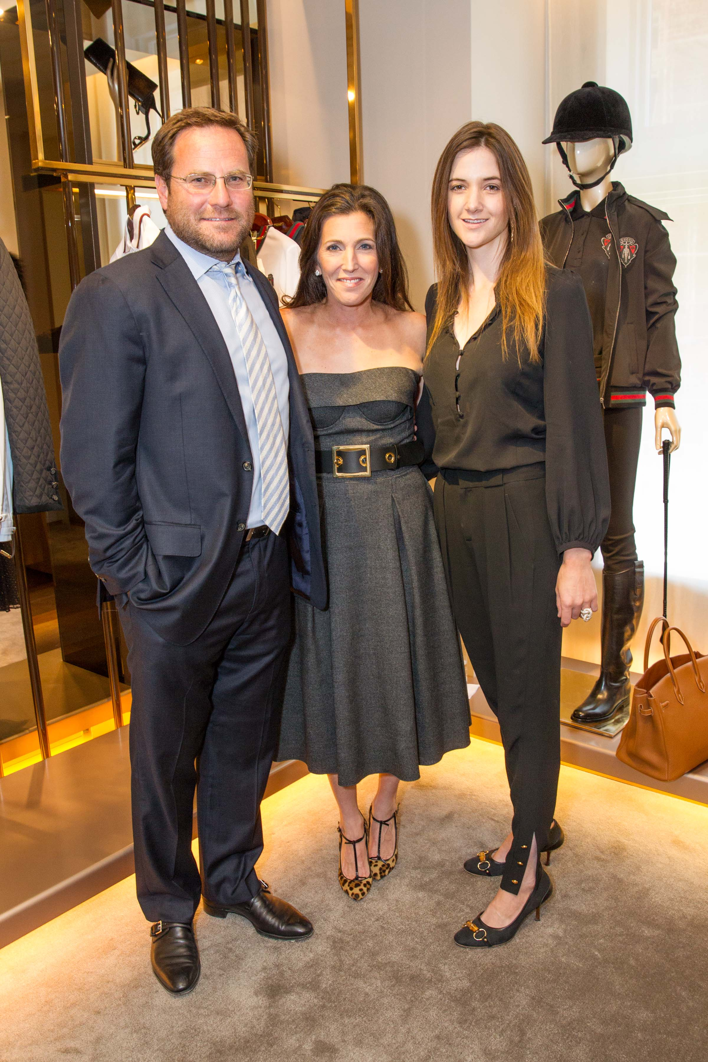 Gucci lunch hosted by Sloan Barnet