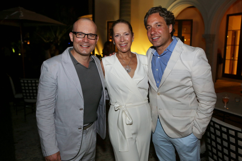 Thom Collins, Alicia Cervera, & Thom Filicia