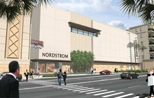 The grand opening of Nordstrom at The Americana at Brand won't occur ...