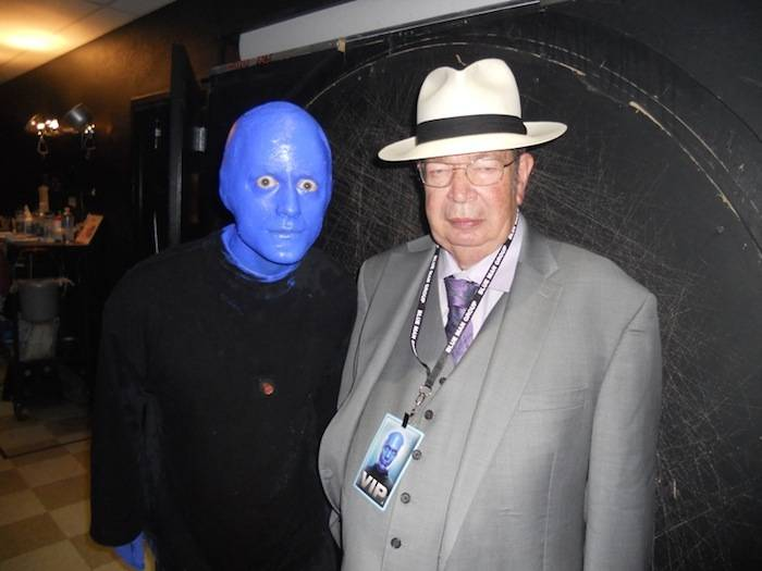 6.29.13 'Pawn Stars' Richard Harrison at Blue Man Group in Monte Carlo Resort and Casino