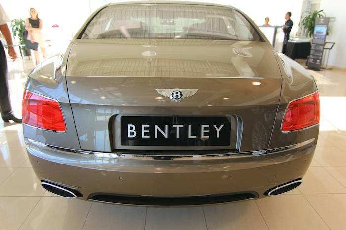 Bentley Flying Spur rear