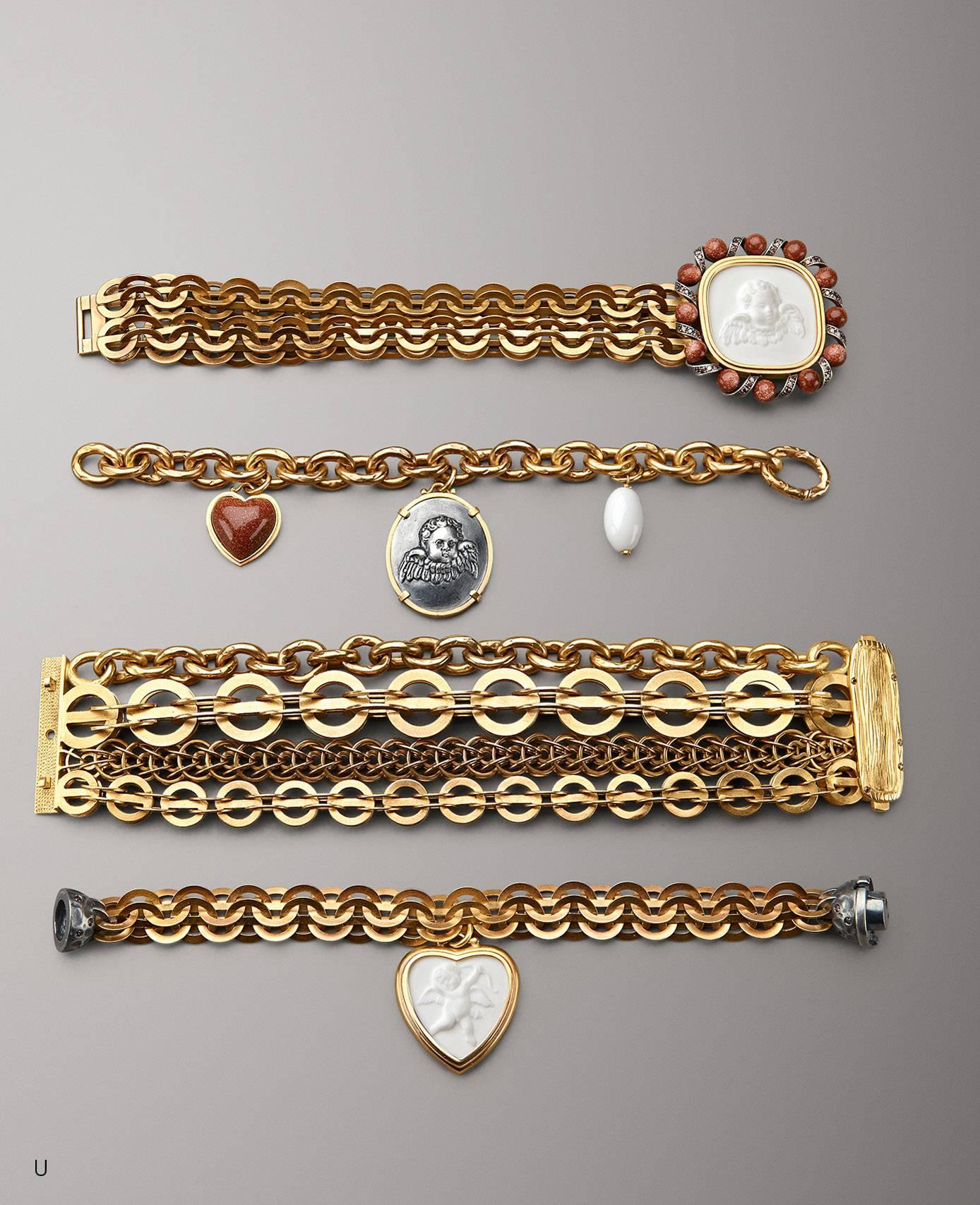 Bottega Veneta_Porcelain gold bracelet – AED 12300