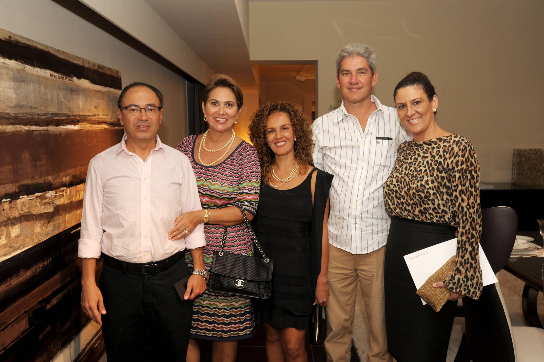Carlos Machado, Reca Machado, Ana Paula Berros, Joaquim Rezende, & Cristina Rezende