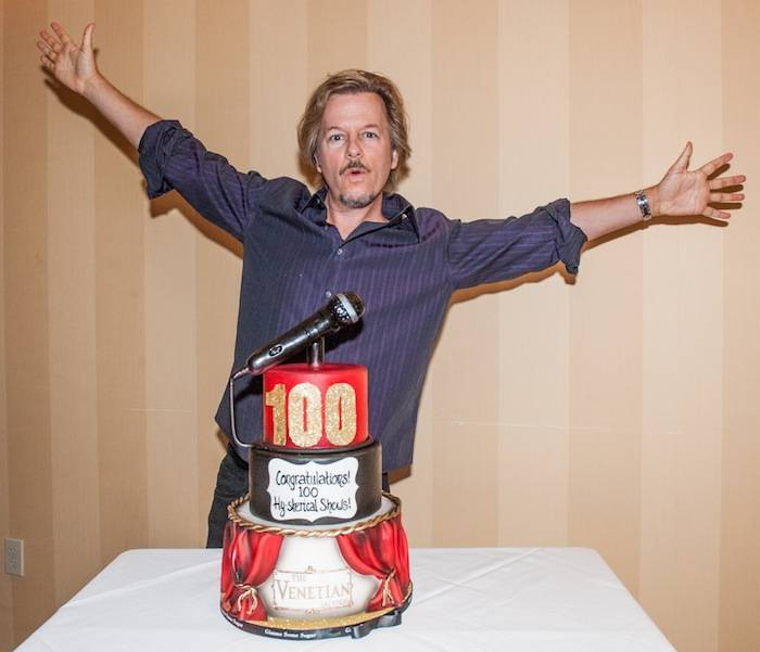 David Spade celebrates 100 Shows at The Venetian Las Vegas