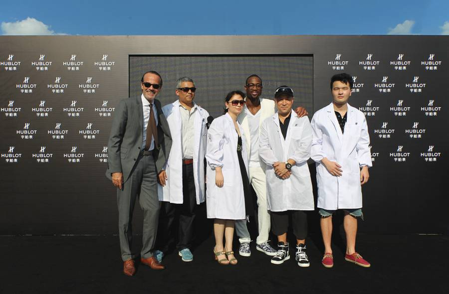 Hublot-Dwyane-Wade-Event-All-VIP-Guests-Group-Photo