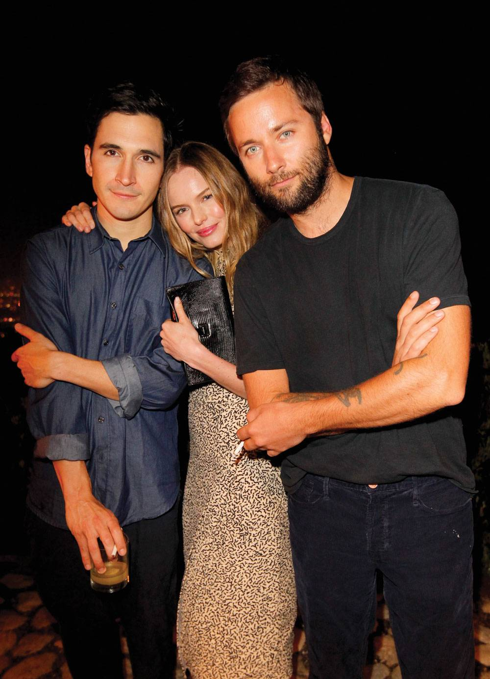 Lazaro Hernandez, Kate Bosworth and  Jack McCollough