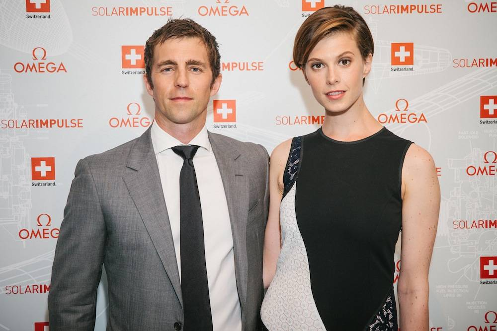 Left-to-Right-James-Marshall-and-host-committee-member-Elettra-Wiedemann