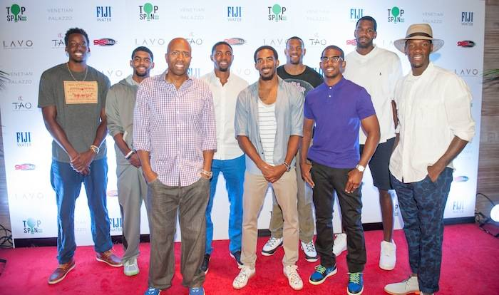 NBA Players at TopSpin Charity Ping Pong Tournament During Carnevale at The Palazzo Las Vegas