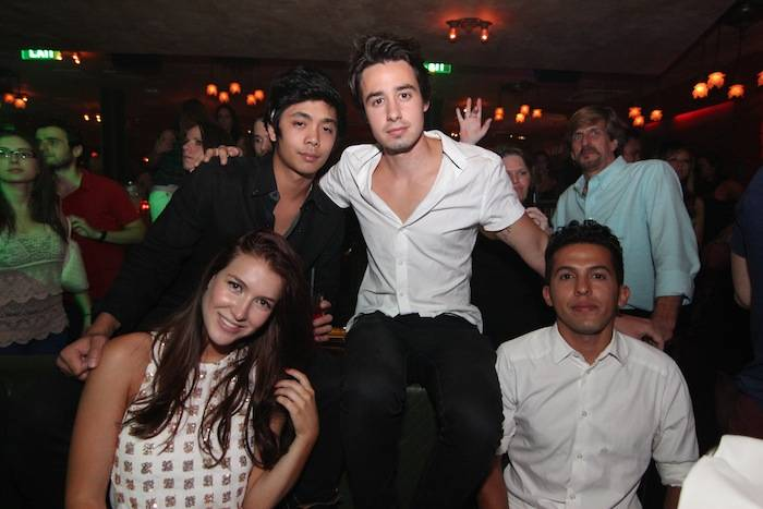 Nathalia Ramos, Derek An, Dathan Kuppin and friend