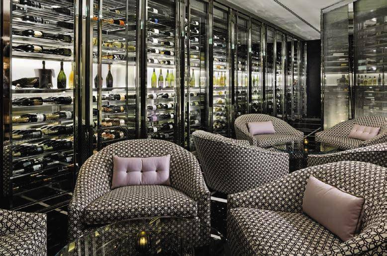 St regis bar and wine vault