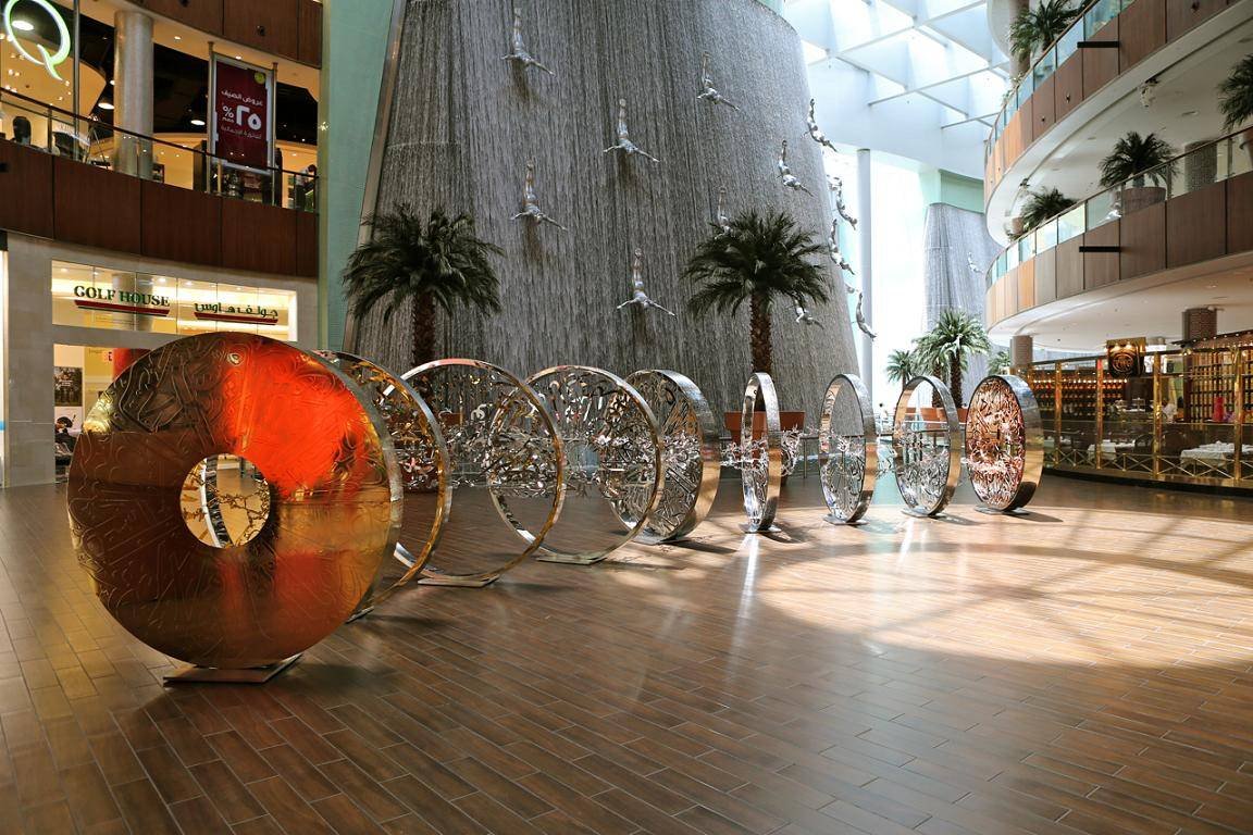 The Dubai Mall – Moon Reflection Exhibition