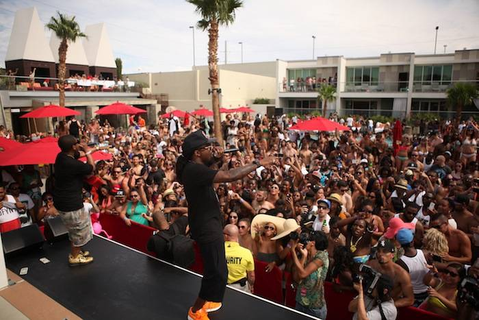 Wale performing at Ditch Fridays at Palms 2