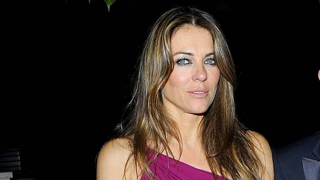 Elizabeth Hurley out and about, London, Britain - 27 Jun 2013