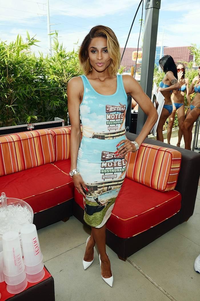 Ciara Performs At