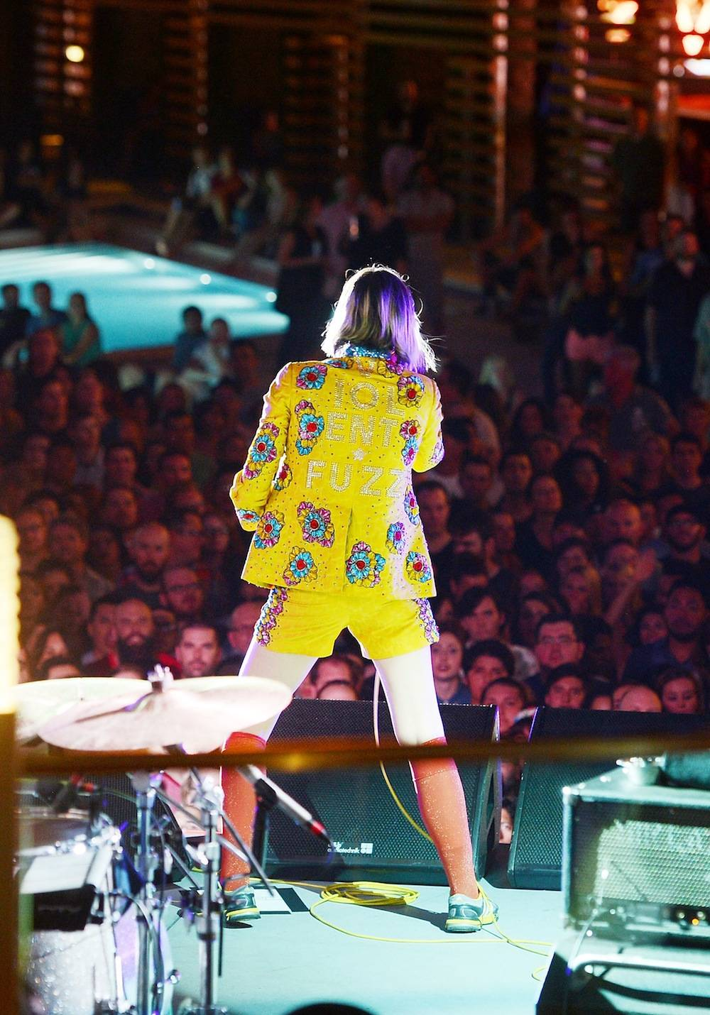 Big Star USA Hosts Exclusive Concert with the Yeah, Yeah, Yeahs at Boulevard Pool at the Cosmopolitan