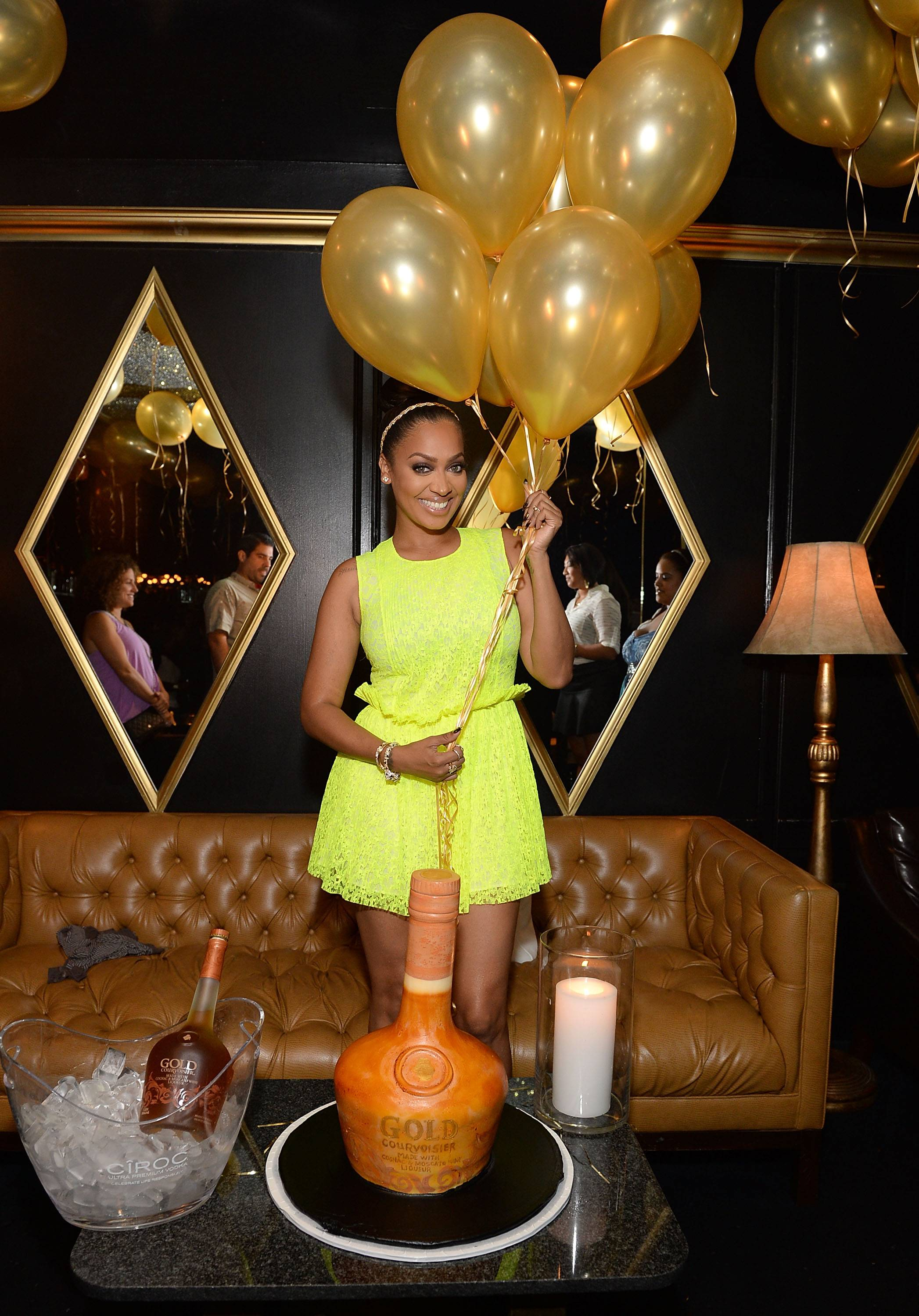 LaLa Anthony Celebrates One Year Anniversary Of Courvoisier Gold On August 22, 2013 At Bootsy Bellows In Los Angeles