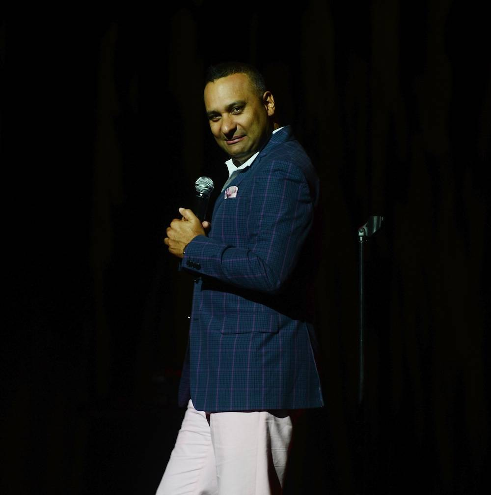 Comedian Russell Peters Performs Live At The Pearl Concert Theater Inside Palms Casino Resort