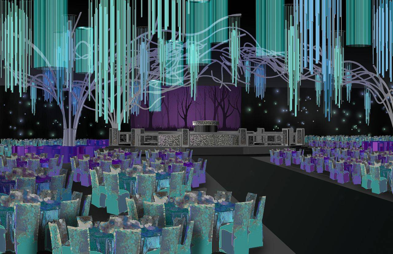 65th Emmys Governors Ball Rendering