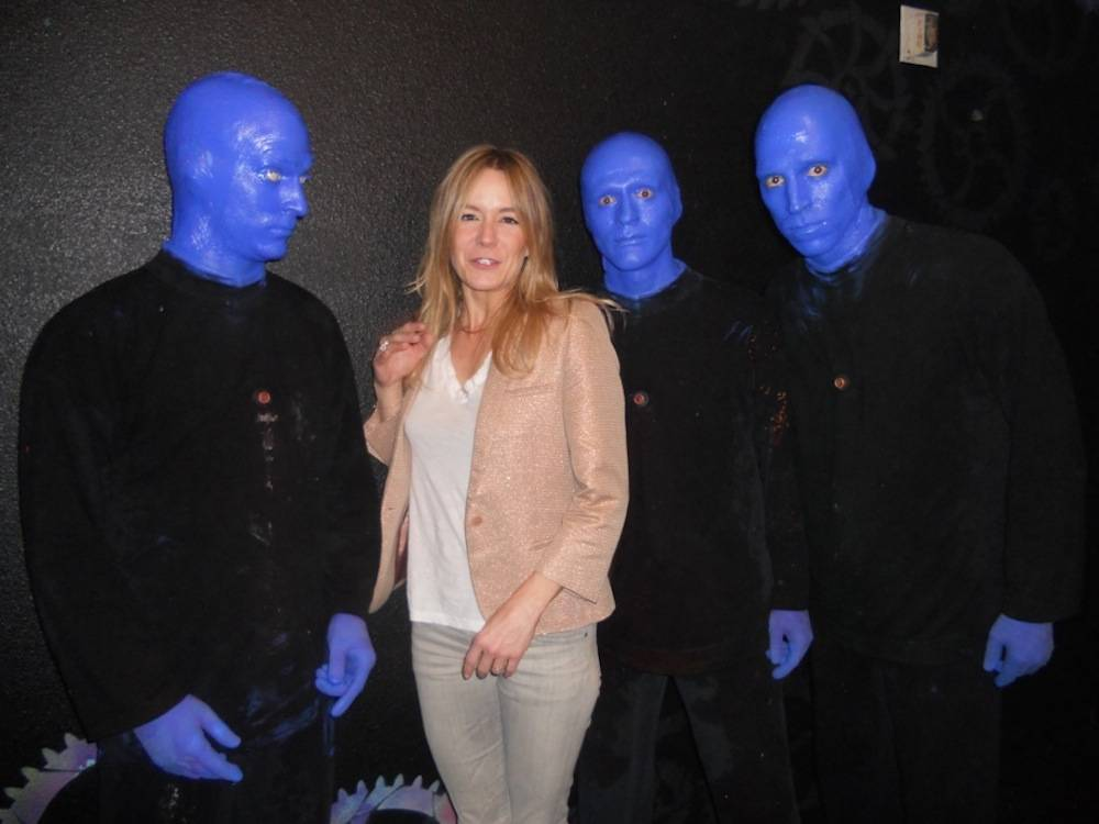 8.11.13 Véronic DiCaire at Blue Man Group at Monte Carlo Resort and Casino (2)