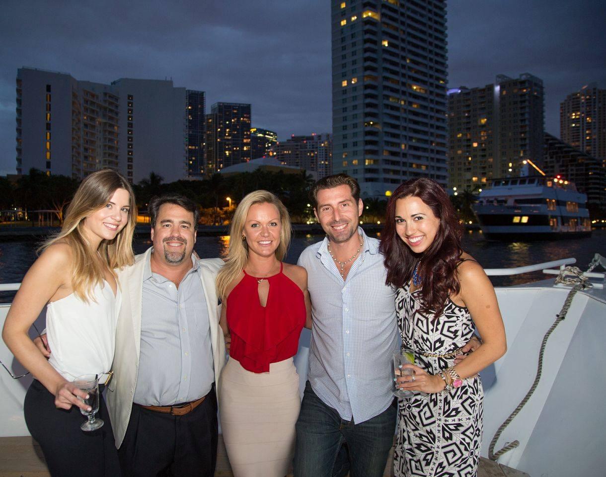 Brooke Burton, George Fraguio, Felicia Doring, Fernando De Nunez & Talisa Suarez