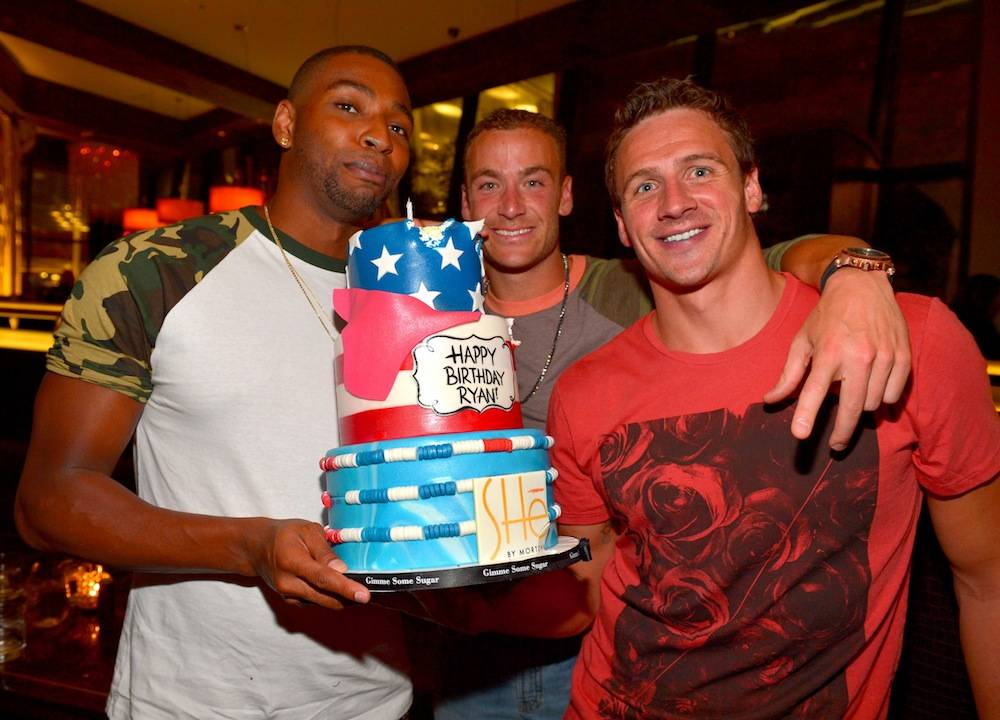 Cullen Jones-Ed Moses-Ryan Lochte
