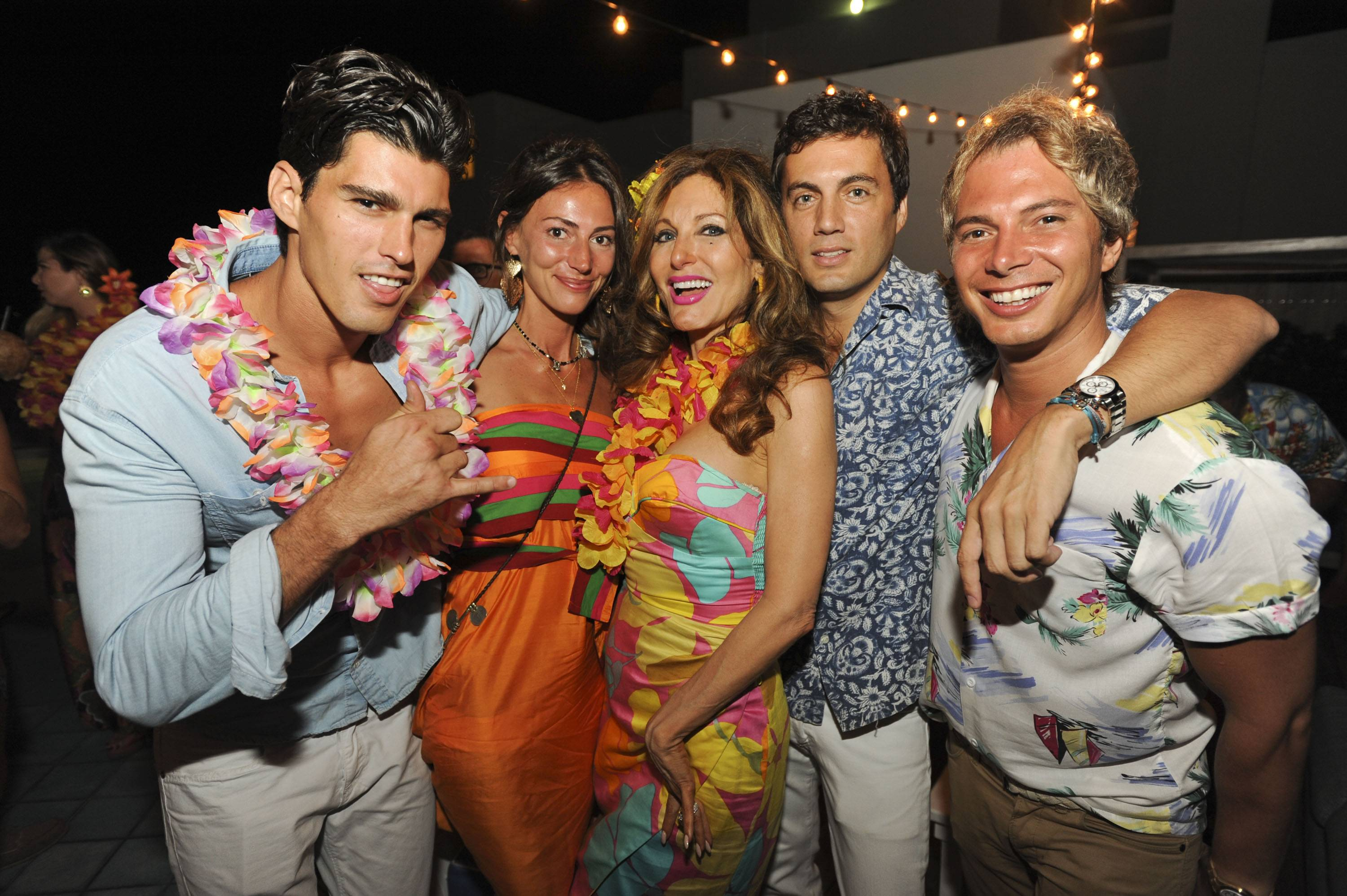 d02b7c7686955 Nick D Annunzio s Hawaiian Birthday Bash At Soho Beach House. by Hadley  HenrietteHaute LivingMagazine ...