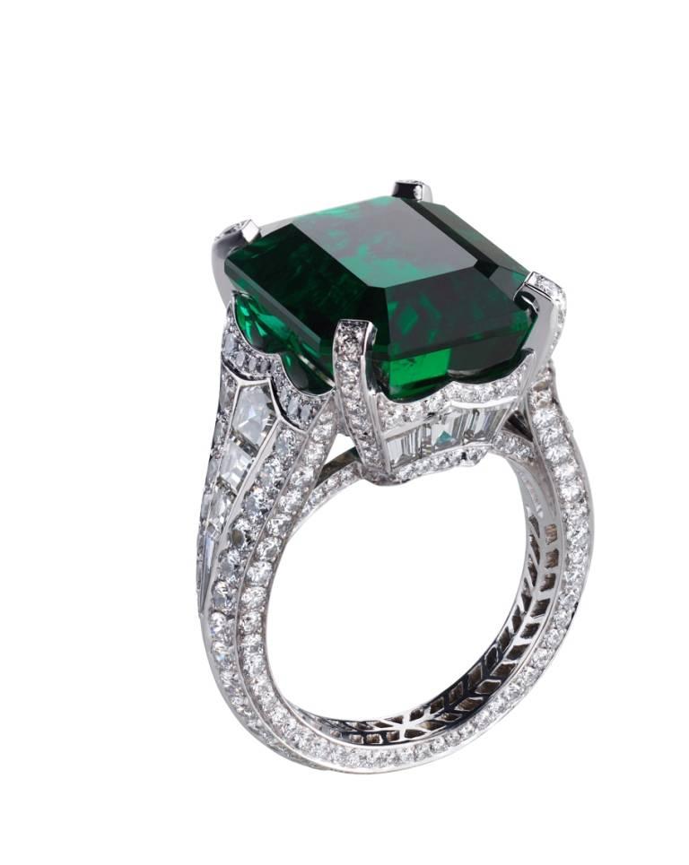 Devotion Emerald Ring
