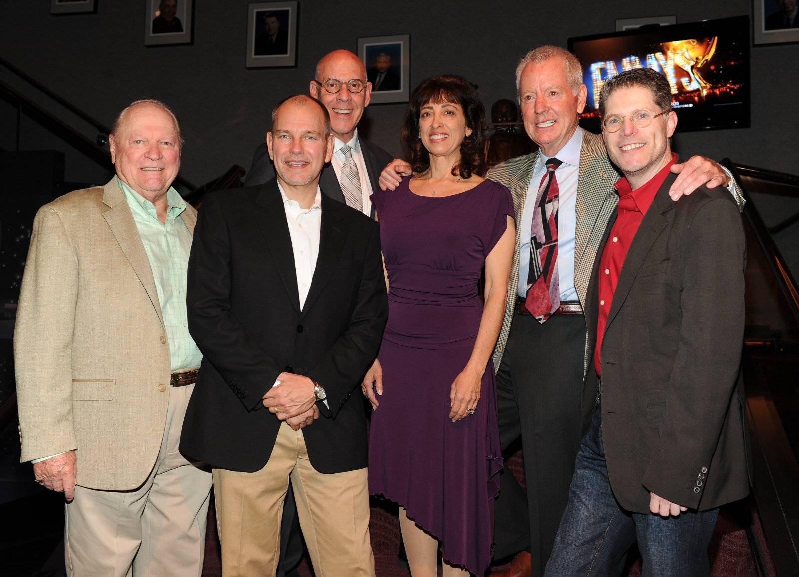 Conrad Bachmann, John Fisher, Joe Stewart, Geriann McIntosh, Russ Patrick, Bob Bergen
