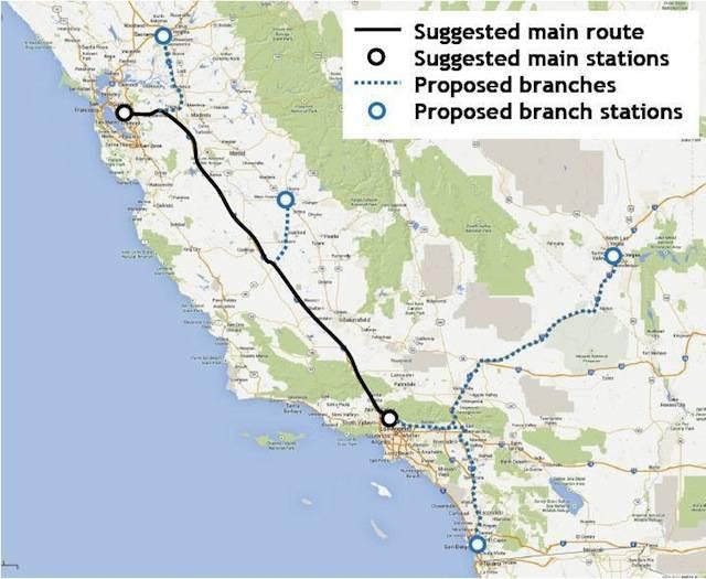Hyperloop-route