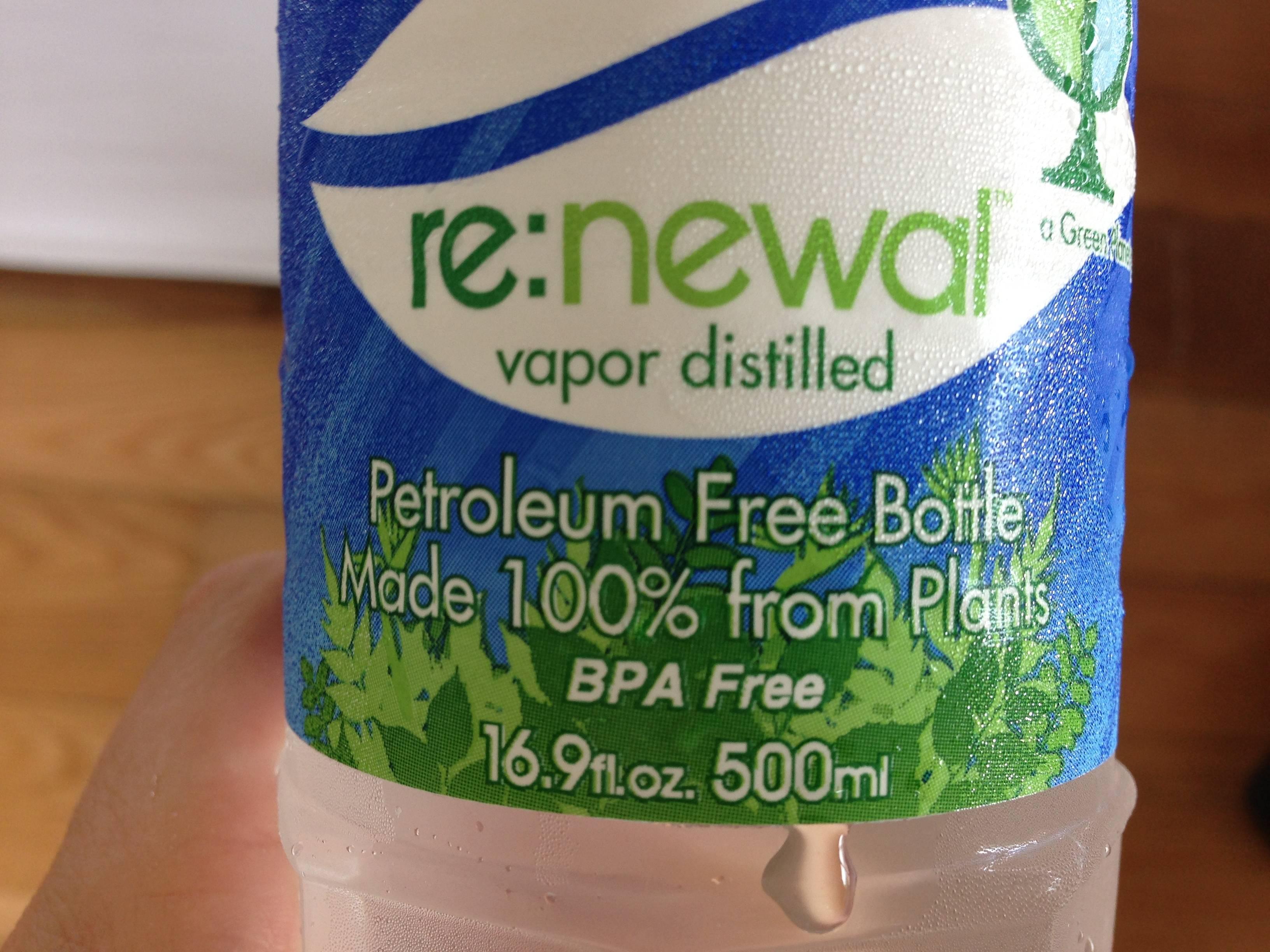 healthy bottled water