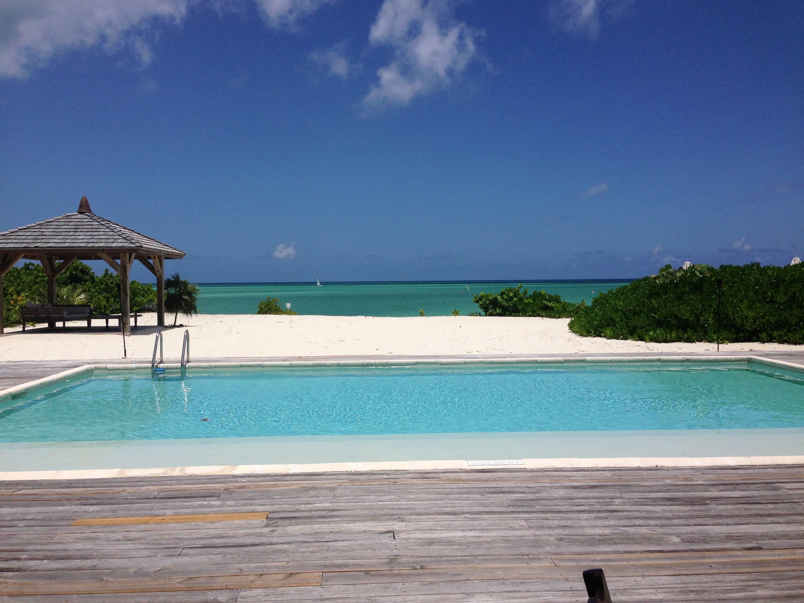 2 bedroom private villa pool
