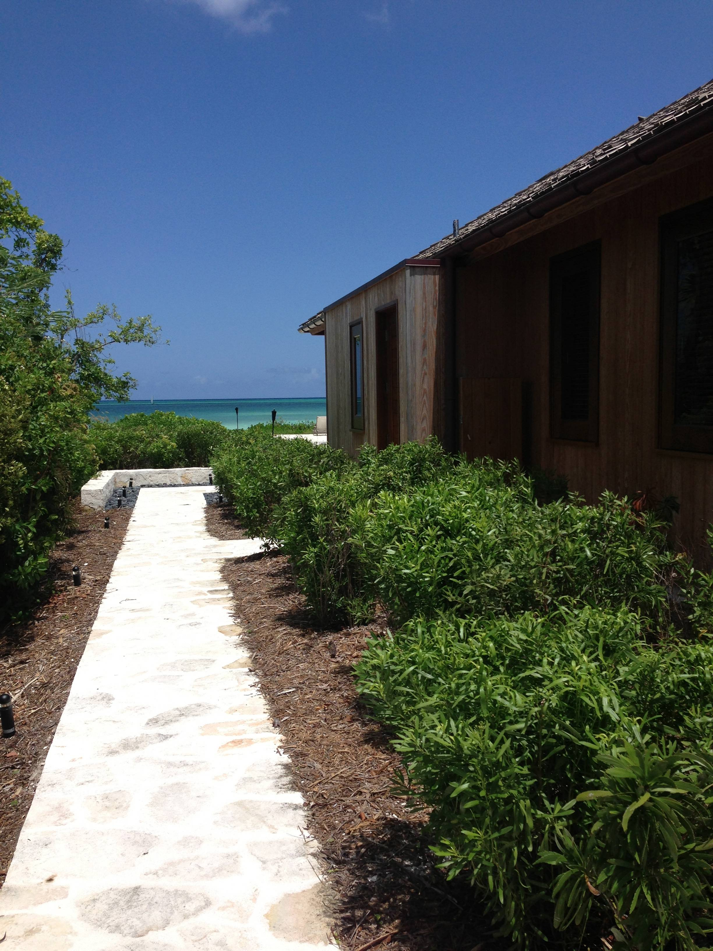 three bedroom beach villa