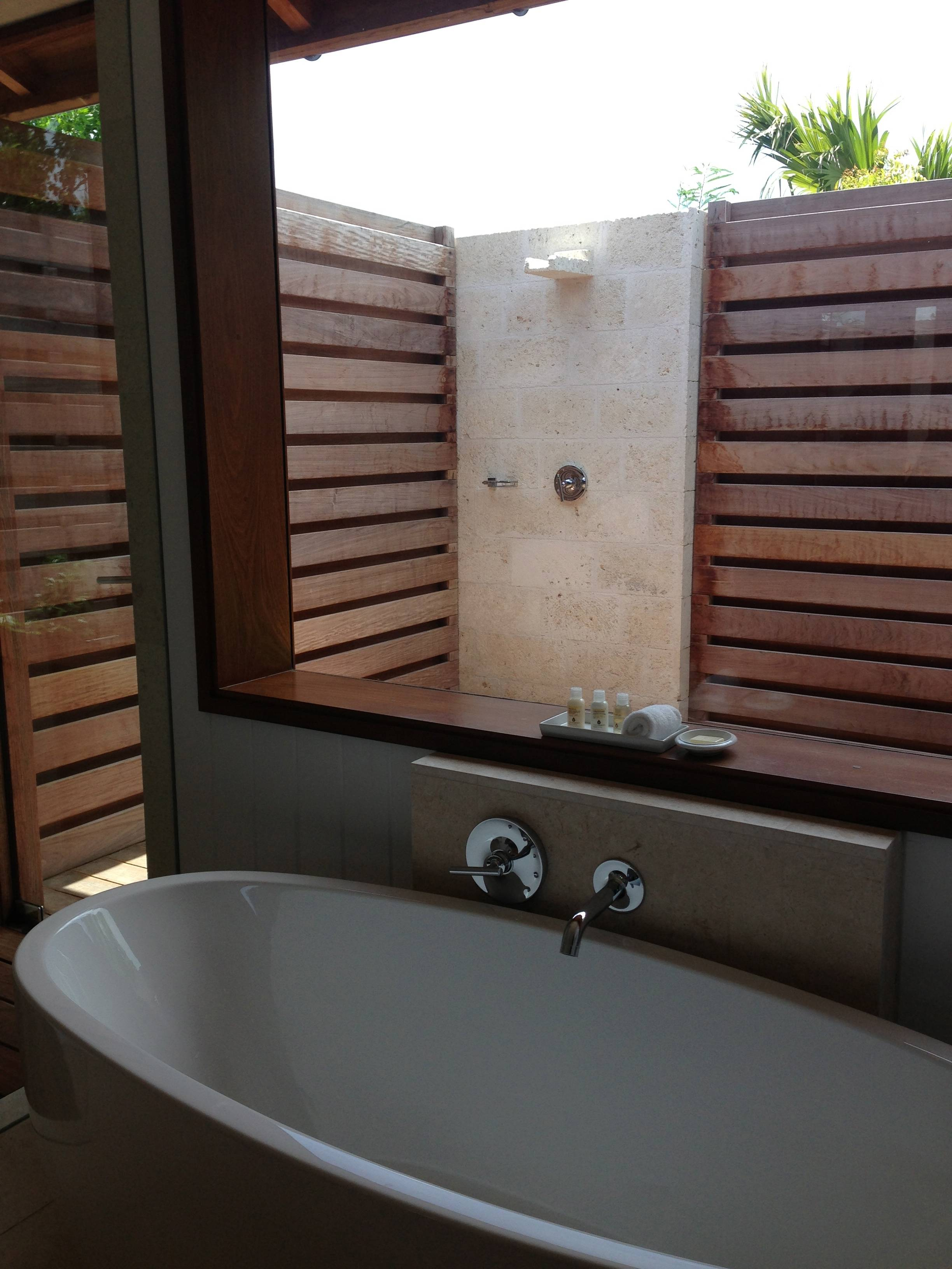 3 bedroom beach villa bathroom