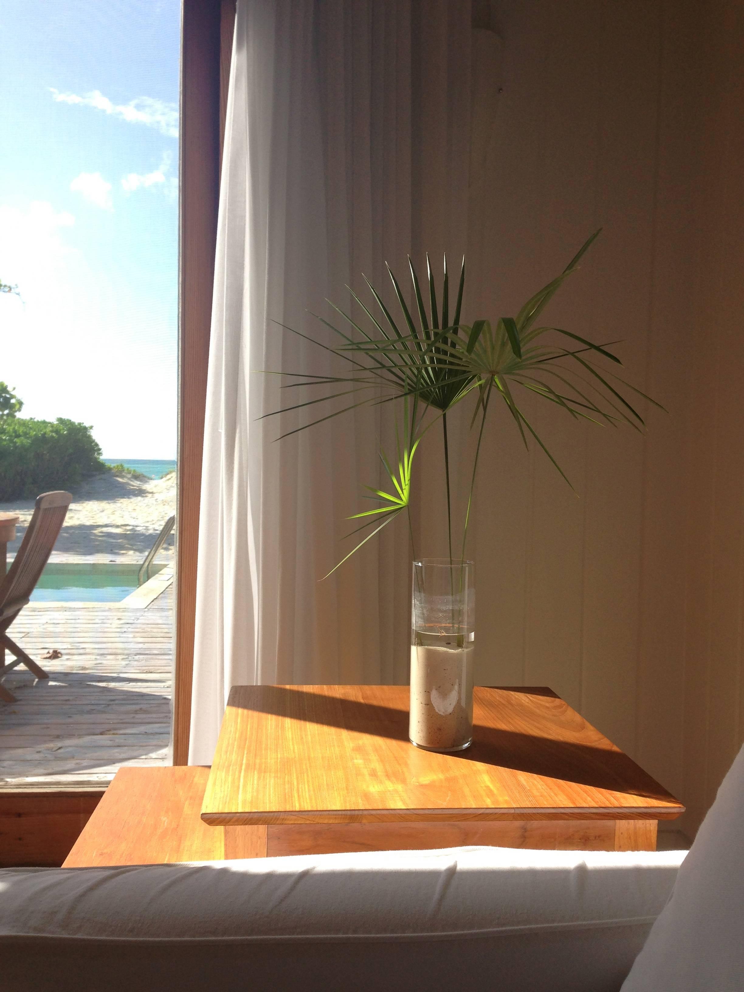 inside 1 bedroom beach villa