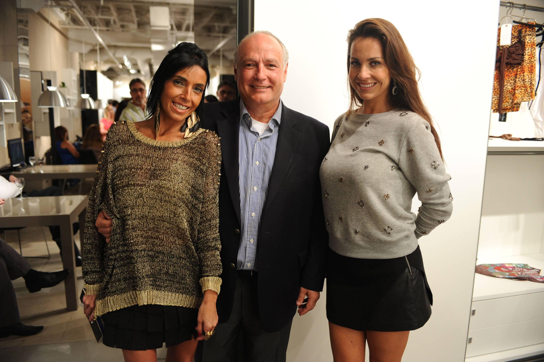 Lara Seouto, Claudio Bertolla, & Karina Michelin